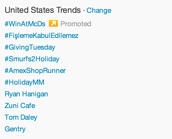 Trending #GivingTuesday