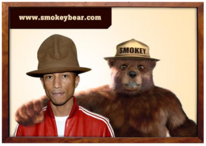 Smokey Bear – Pharrell Moment