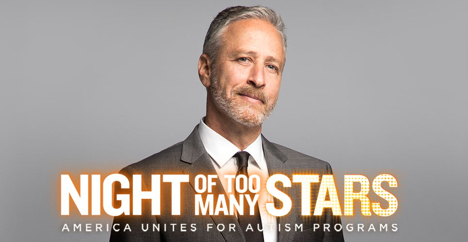 Jon Stewart Night of Too Many Stars Promo